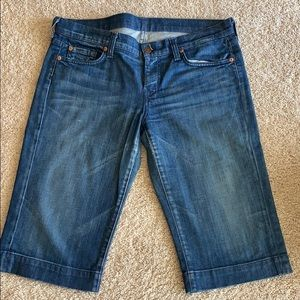 Seven for all mankind cropped jeans!